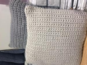 I think I felt inspired by these cushions in Waitrose